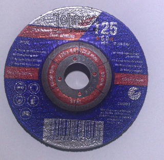 100-230mm Abrasive Metal Cutting Grinding Disc with Depressed Center