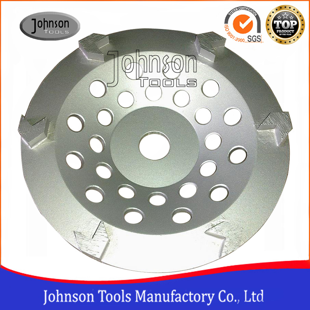 Arrow shaped grinding wheel