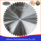 700-1500mm Laser Welded Diamond Concrete Blade for Cutting Prestressed Concrete