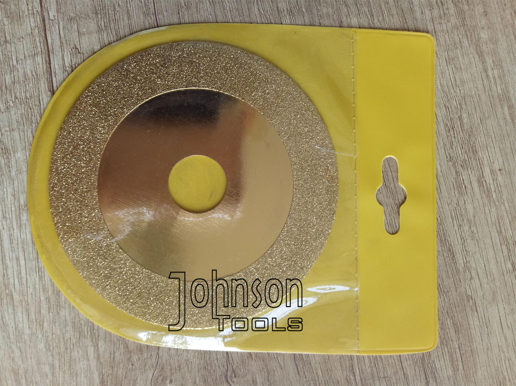 EP Disc 16, 100mm Electroplated saw blade for carbide tip cutting and grinding
