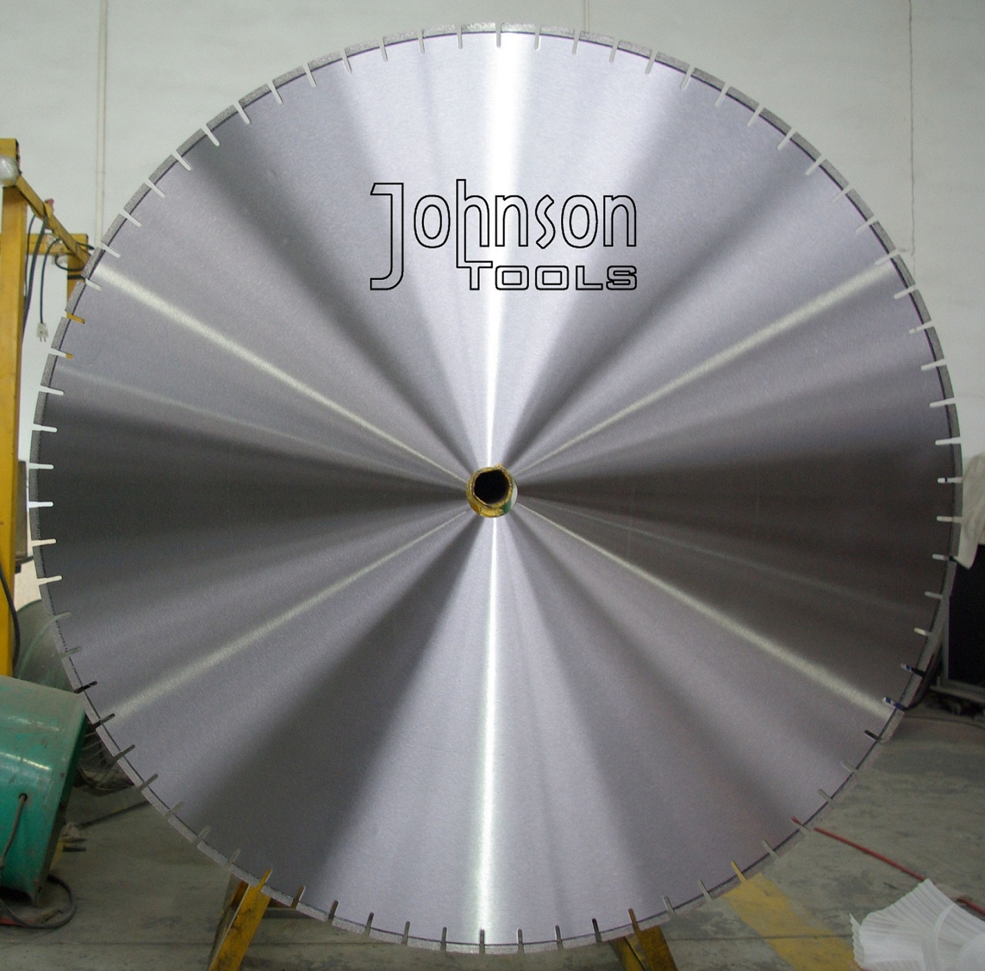 "44"" 1100mm Laser Welded Diamond Blades for Hollow Core Concrete Beds Cutting"