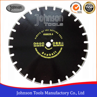 300-600mm Laser Welded Asphalt Saw Blades for Asphalt Road Cutting