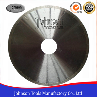 300mm Silver Brazed Diamons Saw Blade with J slot for Cutting Tiles