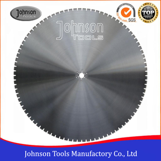 "24""-72"" Laser Welded Diamond Blades for Reinforced Concrete Cutting"